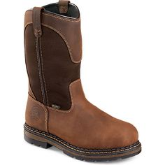 Irish Setter Ramsey Pull On Boot Pull On Work Boots, Irish Setter, Cowboy Boots, Shop Now, Brown, Shopping, Shoes, Fashion, Boots