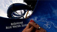 Bešeňová Blue Water Slide 2 (Outdoor) 360° VR POV Onride Water Slides, Vr, Clouds, Youtube, Blue, Travel, Outdoor, Outdoors, Viajes
