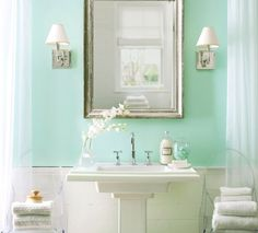 Ordinaire Ready To Change My Bathroom From Grey To Sea Foam.. Seafoam Green Room Ideas