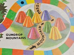Loved the Gumdrop Mountains in Candy Land