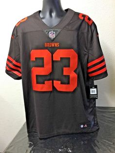 Details about Nike NFL On Field Cleveland Browns   23 Haden Jersey Mens  Size 2XL 239524d87