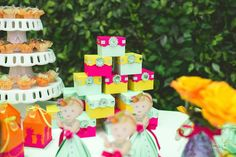 Tropical - paper doll party