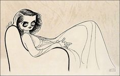 BETTE DAVID Hand Signed by Al Hirschfeld, Limited Edition Etching