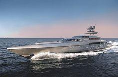 The 77m Silverfast superyacht