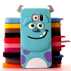 For samsung galaxy s6 case Tiger Monsters Inc. Sulley Marie/Alice Cat Dog rubber phone cases cover for samsung galaxy s6 g9200