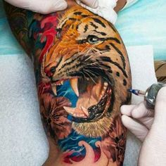 29 Tiger Tattoo Designs
