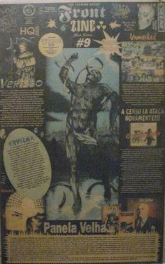 Front Zine Nº 09 publicado pelo Clube dos Quadrinheiros de Manaus no extinto Jornal do Norte em 23 de março de 1996 com autoria de Fábio Prestes, João Vicente, Mário Orestes Silva e Daniel Dante.