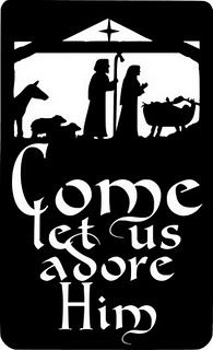 Come Let Us Adore Him -Free Scroll Saw Patterns by Arpop: Seasonal Christmas Plaques, Christmas Manger, Christmas Quotes, All Things Christmas, Christmas Holidays, Christmas Crafts, Christmas Ideas, Christmas Signs, Christmas Inspiration