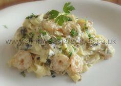 Seas and Mountains Tagliatelle - Simply Pasta Recipes Noodle Recipes, My Recipes, Pasta Recipes, Simply Pasta Recipe, Potato Salad, Seafood, Seas, Ethnic Recipes, Mountains