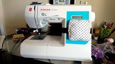 Sewing Machine Pin Cushion by @stitchedheart1
