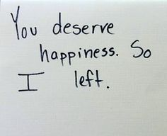 You deserve happiness. So i left. I'm currently addicted to this six word story thing. 6 Word Stories, Six Word Story, The Words, Mood Quotes, True Quotes, Image Citation, Pretty Words, Quote Aesthetic, Writing Prompts