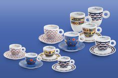 The Latest illy Art Collection Cup: Gillo Dorfles Espresso, Coffee Cups, House Design, Mugs, Tableware, Collection, Studio, Live, Art
