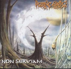 Rotting Christ- Non Serviam apt name for Easter weekend! album from Greek metal band. A great black metal album. Black Metal, Heavy Metal, Rotting Christ, Metal Albums, Easter Weekend, My Cup Of Tea, Rock N, Lp Vinyl, Metal Bands