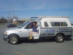 AIM Electrical and Plumbing Service Vehicle Wrap