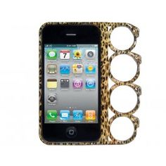 Knuckles Leopard Print iPhone 5 Case
