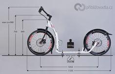 Scooter (footbike) | koloběžka – Kostka Hill Pro – full review > Priblizovadla.cz [] #<br/> # #Kick #Scooter,<br/> # #Roller,<br/> # #Transport,<br/> # #Electric<br/>