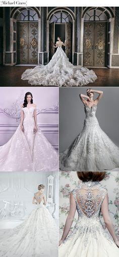 Os 100 vestidos de noiva modelo princesa mais lindos de todos os tempos…