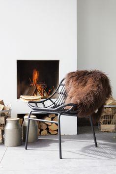 Lounge stoel Chat BePureHome. Voor binnen en buiten. Basiclabel.nl