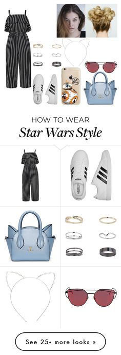 """Style #29"" by tynabrookler on Polyvore featuring Cara, adidas and Miss Selfridge"