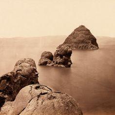 Timothy O'Sullivan, The Pyramid and Domes, Pyramid Lake, Nevada, 1867