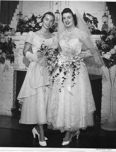 Vintage brides, 1950