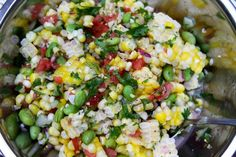 Fresh Corn and Watermelon Salad recipe on Food52