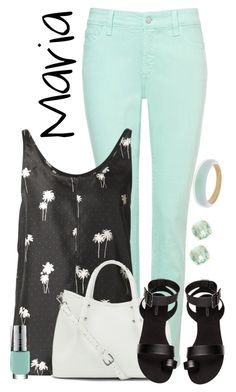 """""""Maria"""" by alyssa-eatinger ❤ liked on Polyvore featuring NYDJ, rag & bone, Vince Camuto, H&M, Alexis Bittar and Kate Spade"""