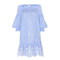 Tory Burch - Ren Smocked printed cotton tunic - You can't go wrong with Tory Burch's 'Ren Smocked' tunic: it's the ultimate summer style. - @ www.mytheresa.com