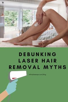 With popularity comes gossip! Many people have made false assumptions about laser hair removal that we want to clear up for you. Check out our blog to see the top 10 common myths we've heard about laser treatments.