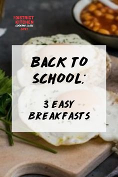 Because breakfast is the most important meal of the day, The District Kitchen wants to teach you three easy breakfast recipes to make in five minutes or less! These recipes will help students get ready for a day of learning, whether that's in a classroom setting, at home, or in their dorm away from home. Back To School Breakfast, Classroom Setting, Cooking Classes, Recipe Of The Day, Dorm, Food To Make, Breakfast Recipes, Students, Meals