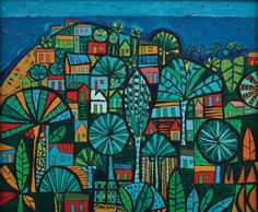 BraZil / how it looks like Tropical, Art And Illustration, All Art, Wall Tapestry, Nativity, Art Drawings, Art Projects, Street Art, Doodles