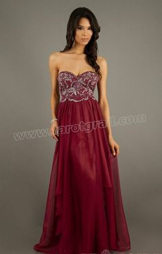 Beading Sweetheart A Line Prom Dress