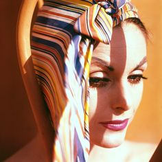 vintage everyday: Anne Sainte-Marie: One of the Best Models in the 1950s – 33 Stunning Color Photos Taken by Her Husband Tom Palumbo