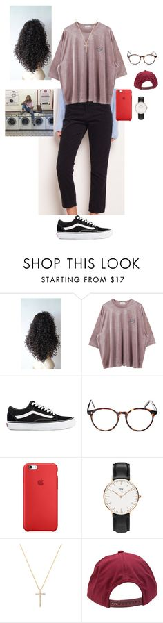 """""""11.17am"""" by cathxwut ❤ liked on Polyvore featuring Vans, Cutler and Gross, Daniel Wellington, Nephora and Brixton"""