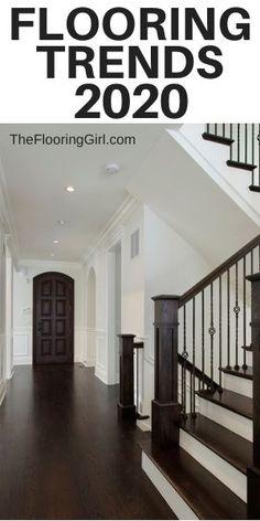 Living Room Carpet Trends 2018 - Flooring Trends for 2019 Real Trends for Real People Hardwood Floor Colors, Hardwood Floors, Dark Hardwood, Wood Flooring, Kitchen Flooring, Floor Design, House Design, Best Flooring, Flooring Ideas