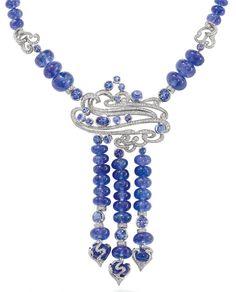 Boodles. Ocean Tanzanite necklace...♡
