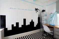 Stickers chambre garçon: 50 idées de décoration