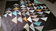 Four Winds Quilt for Mitch