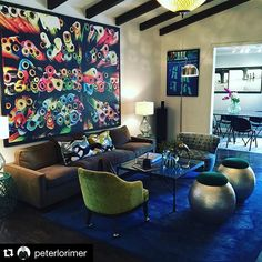 #Repost @peterlorimer ・・・ Just love love love this blue rug at our uber sexy listing on Hawthorne just off the #SunsetStrip. #PLGEstates #AheadOfThePack #EvolvedRealEstate #RealEstate #LA