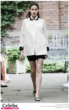 Yeohlee (Spring-Summer 2014) R-T-W collection at New York Fashion Week  #fashion #fashionshow #runway #model
