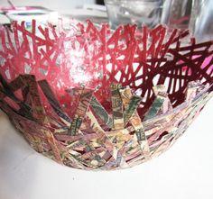@Christine Glyman Paper Bowl tutorial