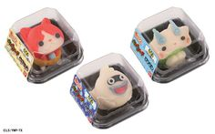 Highly Detailed Yokai Watch Japanese Sweets! | Japanista