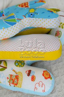 LulaBooo letter pillow - the name of a child, gerland, nursery ideas and decor