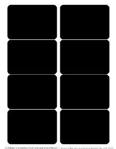 chalkboard label templates