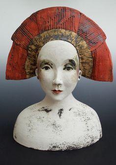 Sally MacDonell_contemporary ceramics_ Figurative_Faces