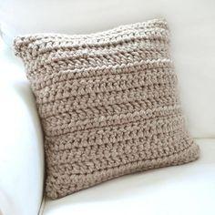 Watch This Video Beauteous Finished Make Crochet Look Like Knitting (the Waistcoat Stitch) Ideas. Amazing Make Crochet Look Like Knitting (the Waistcoat Stitch) Ideas. Crochet Cushion Cover, Crochet Pillow Pattern, Crochet Cushions, Knit Pillow, Crochet Patterns, Crochet Pillow Covers, Crochet Home, Crochet Baby, Chevron