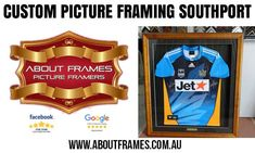 Looking for Custom Picture Framing in Southport. About Frames is a finest company for picture framing