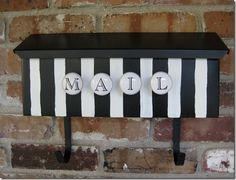 My rehabbed mailbox...true confession: definitely one of my favorite DIY projects in LTHL history.