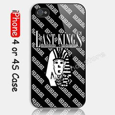 last kings Tyga Custom iPhone 4 or 4S Case Cover