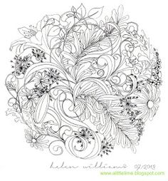 a little lime: floral sphere